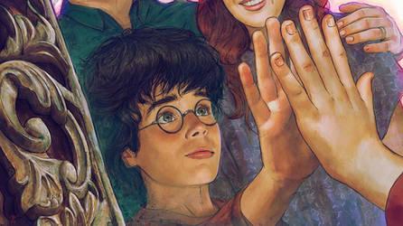 Harry Potter and the Philosopher's Stone-FanArt-11 by VladislavPANtic