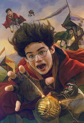 Harry Potter and the Philosopher's Stone-FanArt-16 by VladislavPantic