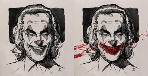 Joker-FanArt-Inktober2019