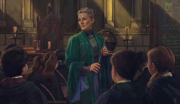 Professor Minerva McGonagall-FanArt