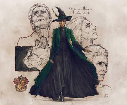 Professor Minerva McGonagall-FanArt2