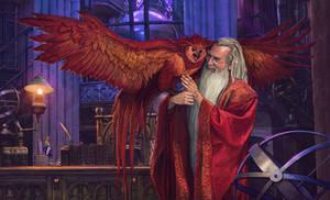 Albus Percival Wulfric Brian Dumbledore -FanArt