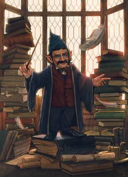 Professor Filius Flitwick-FanArt