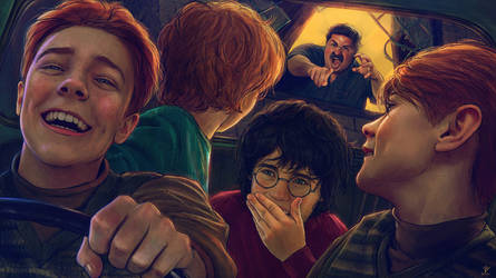 Harry Potter and the Chamber of Secrets-FanArt-02