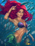 Ariel - MerMay2020 by VladislavPANtic