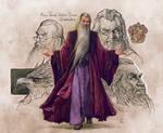 Albus Dumbledore-Sketch-FanArt