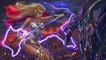 She-Ra The Princess of Power-FanArt by VladislavPantic