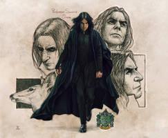 Professor Severus Snape-FanArt