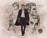 Professor Remus John Lupin-FanArt by VladislavPantic
