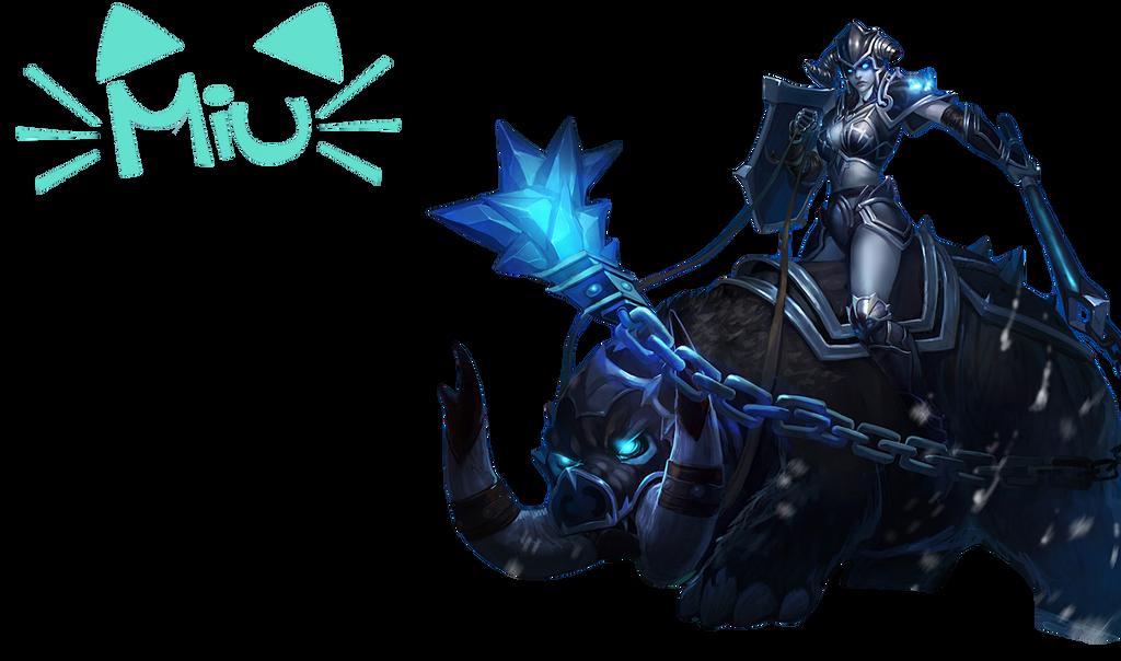 renders League Of Legend  Dark_rider_sejuani_render_by_miuzr-d8d6i5r