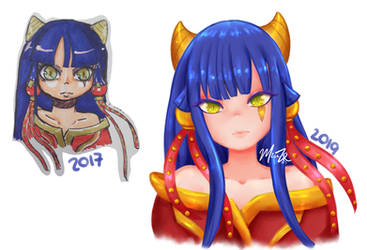 Demon - 2017 vs 2019