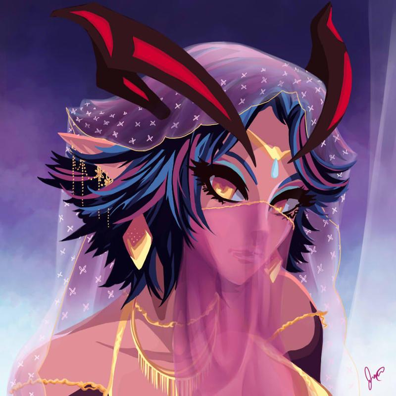Queen Scheherazade by nemmey