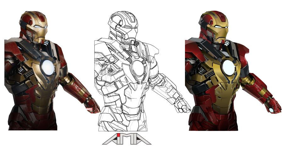 Iron Man Mark 17 Trace By Amadigital ...