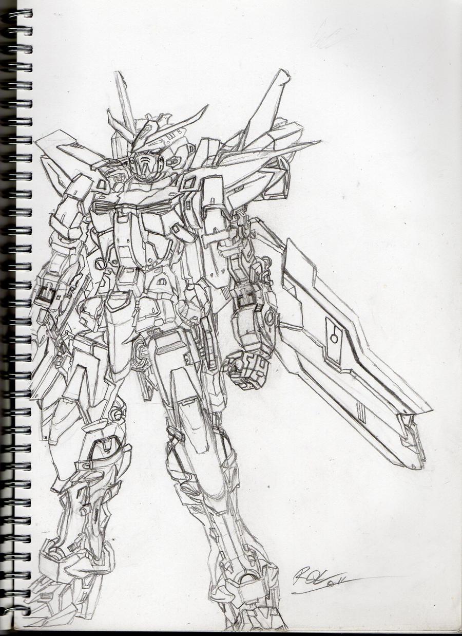 Gundam Astray Blue Frame - 2R by RQL on DeviantArt