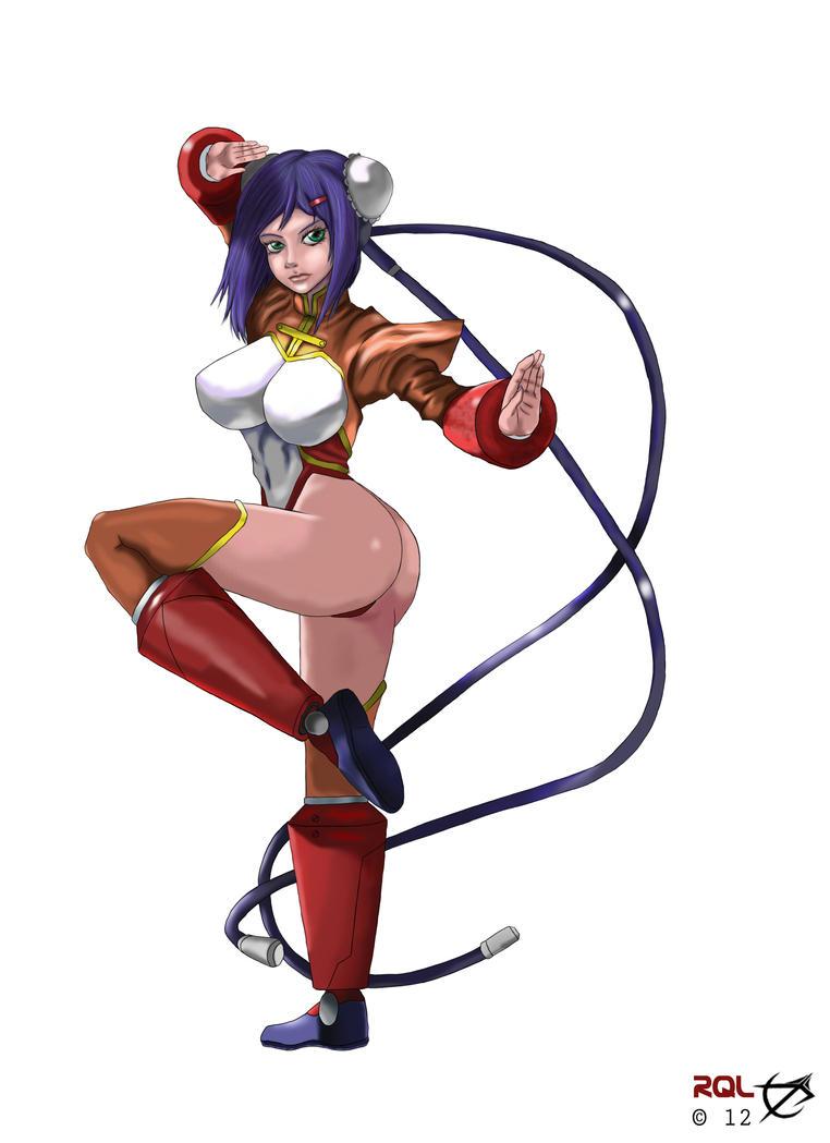 Mei-Fang, Fight! by RQL