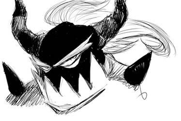 Sketch - Zavok by ShuraMune-Sonic