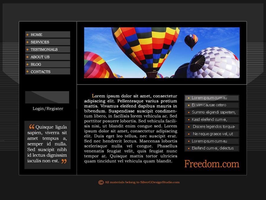 Freedom.com by SilverPixiGirl