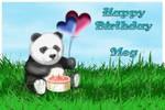 Happy Birthday Meg by SilverPixiGirl
