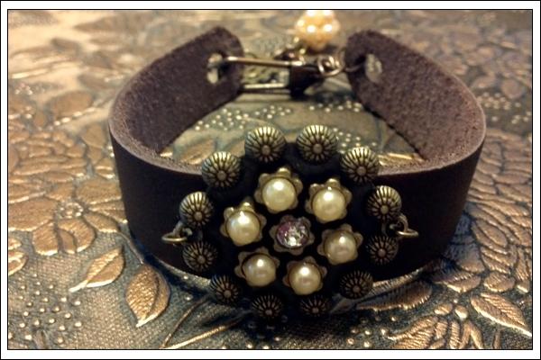 Berry Jewel Bracelet by SilverPixiGirl