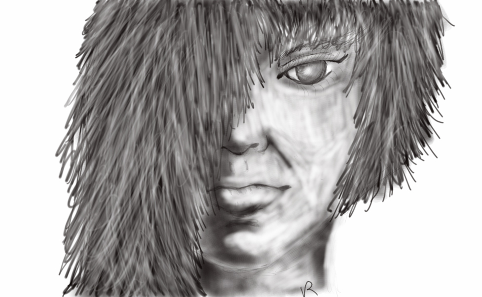 Alien child by SilverPixiGirl