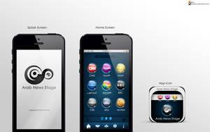 Mobile App Design by Almoutasemz