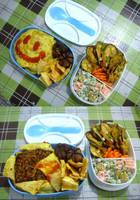 moyamoya rice bento by plainordinary1