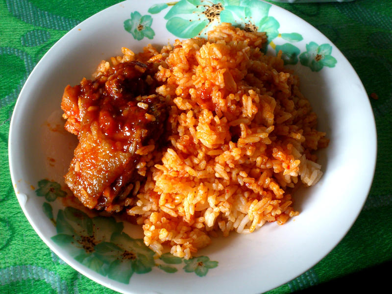 tomato chicken rice by plainordinary1