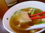 dumpling soup lunch