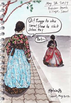 Hanbok girls