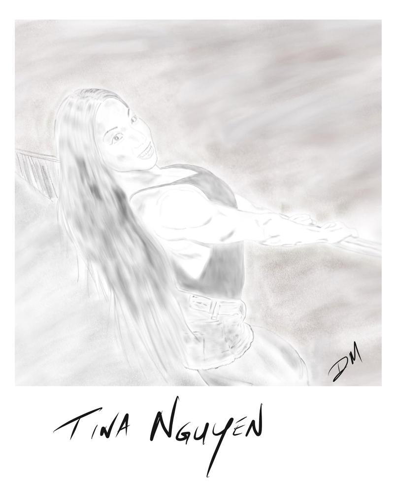 Tina Nguyen Pencil Art by MorphMedic