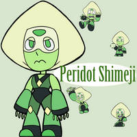 Peridot Shimeji by HetaGarnet