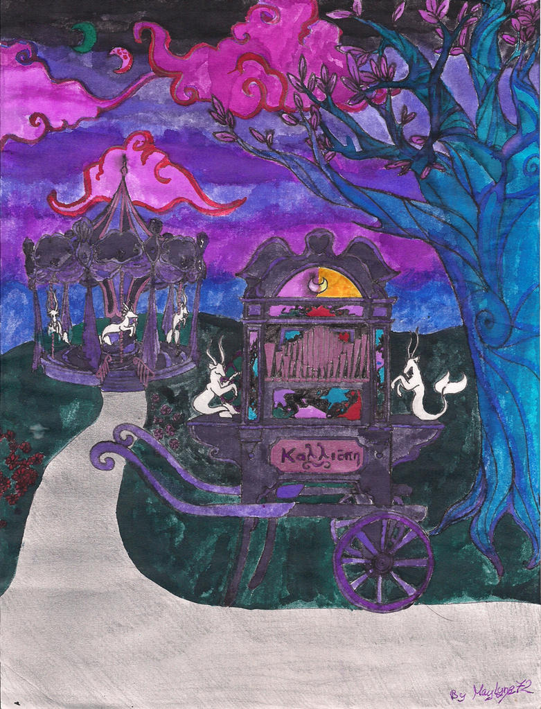 Midnight Calliope by Maylyne72