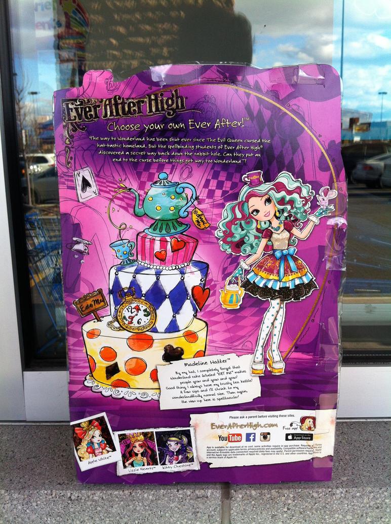 Ever After High Madeline Hatter By FurbyLover86 On DeviantArt Wallpaper