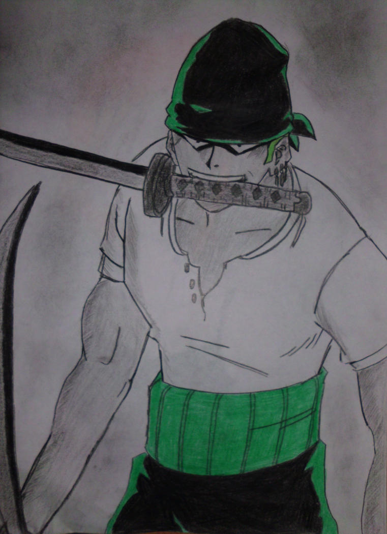 One Piece Lorenor Zorro by CpointSpoint