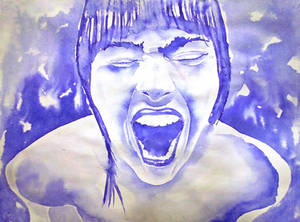 Inktober #5: cry