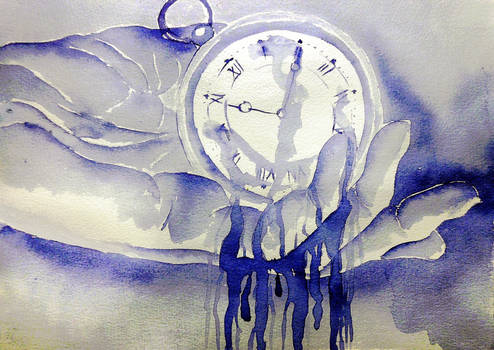 Inktober #31: Time