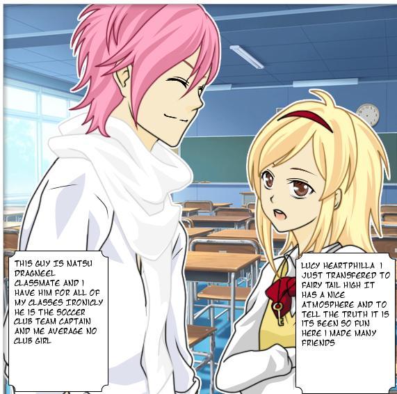 NaLu FanFic Manga) Chapter1: Hang Out with Natsu by OujoAsuka on