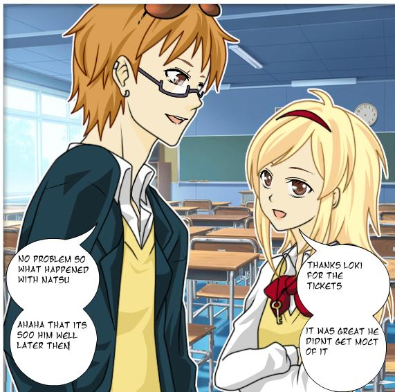 (NaLu FanFic Manga) Chapter1: Hang Out with Natsu by ...