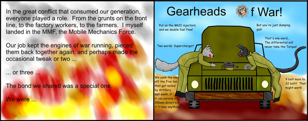 Gearheads of War by tbolt