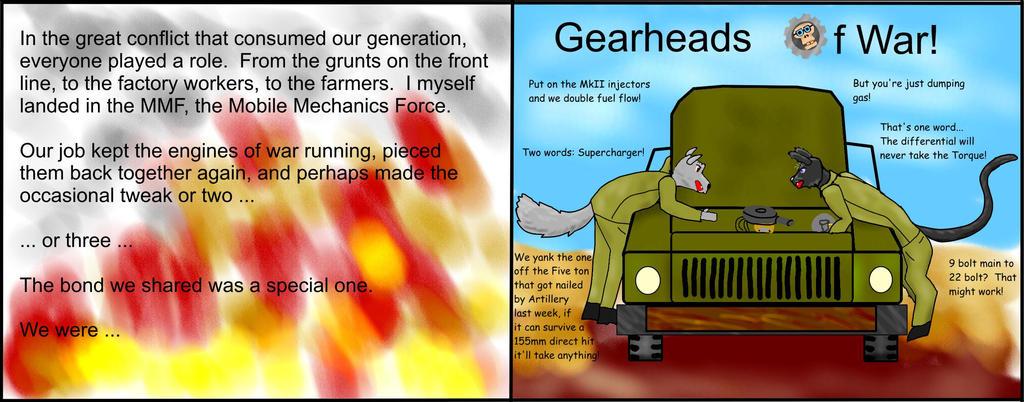 Gearheads of War by tbolt