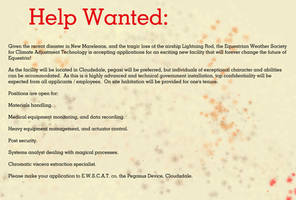 Help Wanted by tbolt
