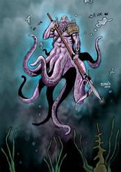 Octarean warrior by nikotem