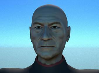 Picard fan art by nikotem
