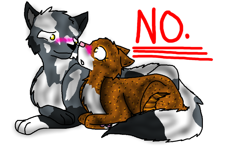 Warrior Cats Spottedleaf And Thistleclaw