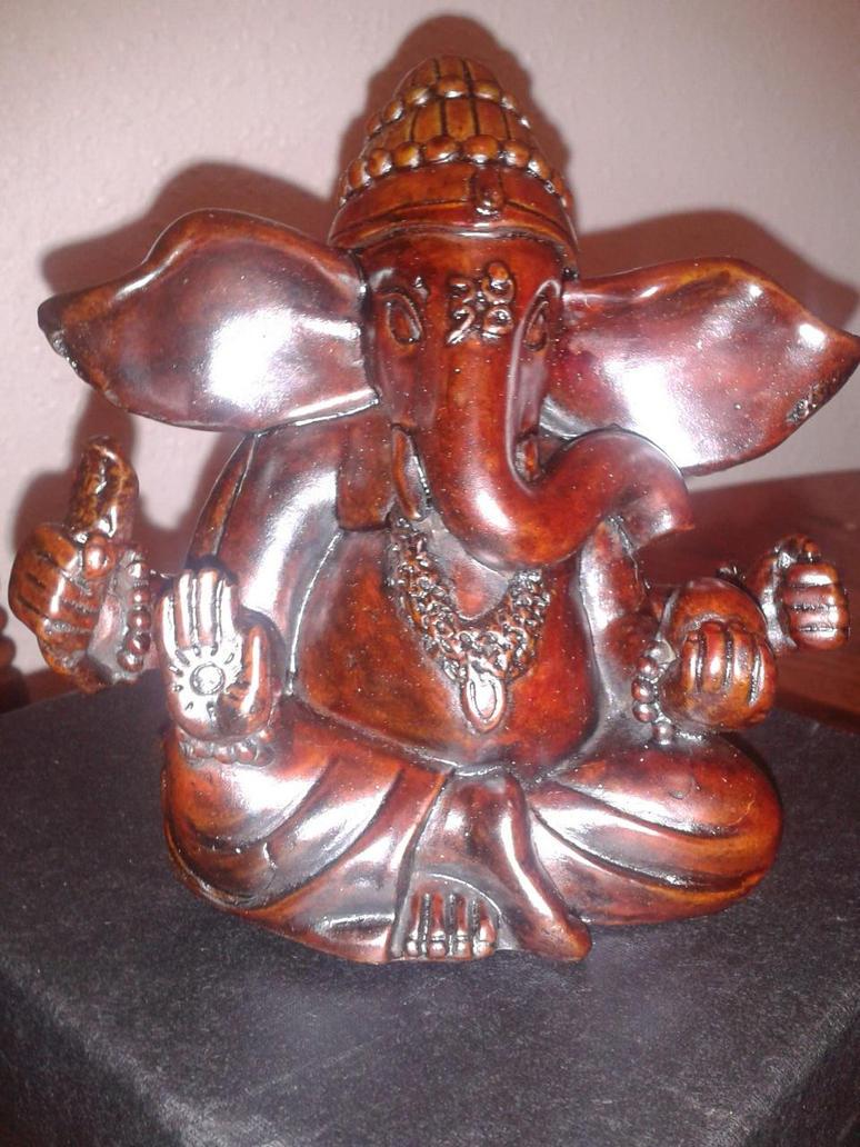 Redwood Ganesha by MyCrystalStar
