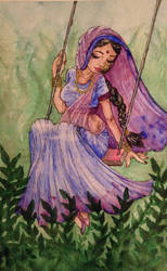 Radha by MyCrystalStar