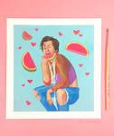 Harry Styles Watermelon