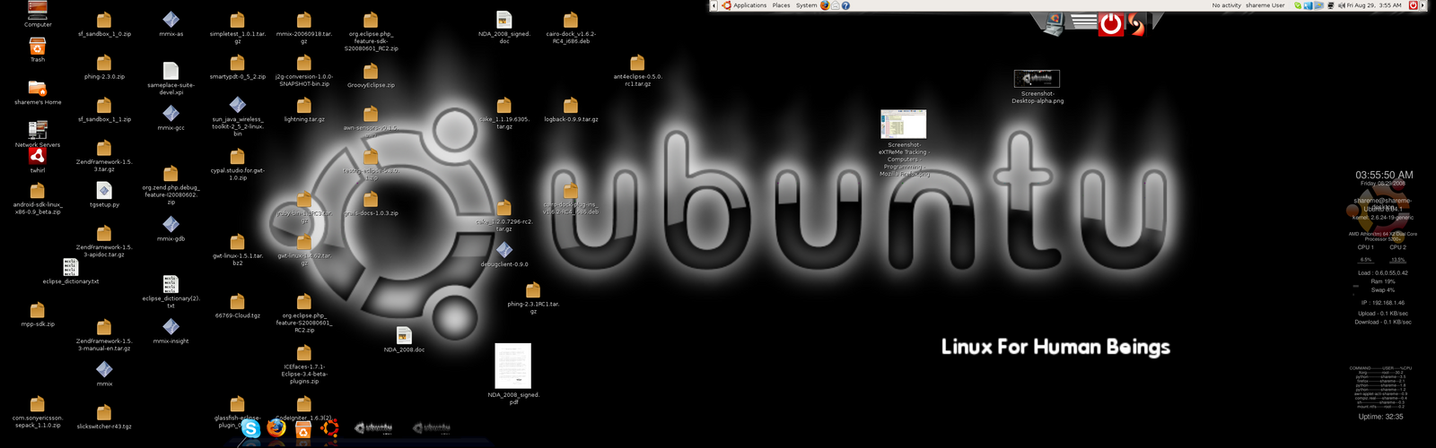 Ubuntu DesktopScreenshot by shareme