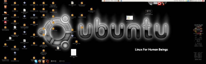 Ubuntu DesktopScreenshot by shareme