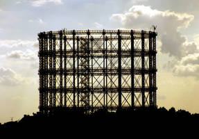 Former gas holder by baronjungern